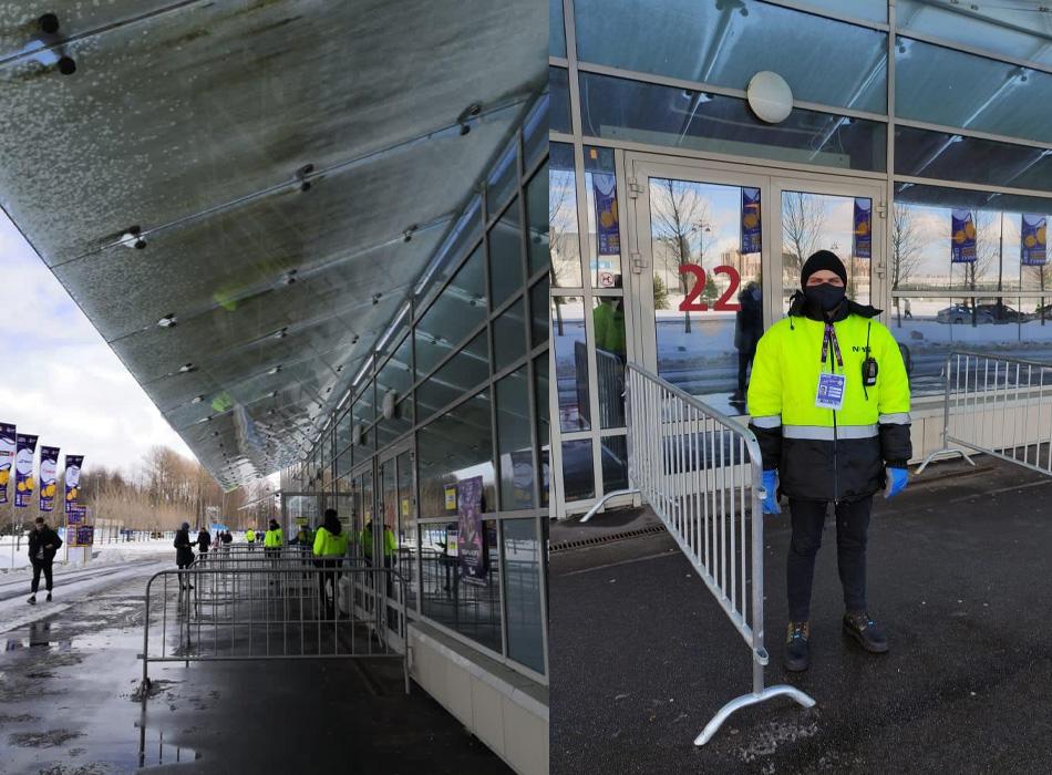Наряд обеспечения ОП «Одеон на площадке КСК «Сибур Арена»
