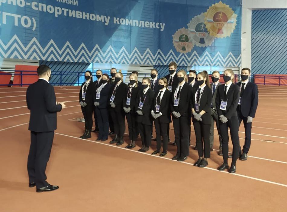 Наряд обеспечения ОП «Одеон на площадке «Легкоатлетический Манеж»