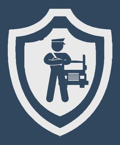 Невооруженная охрана груза;