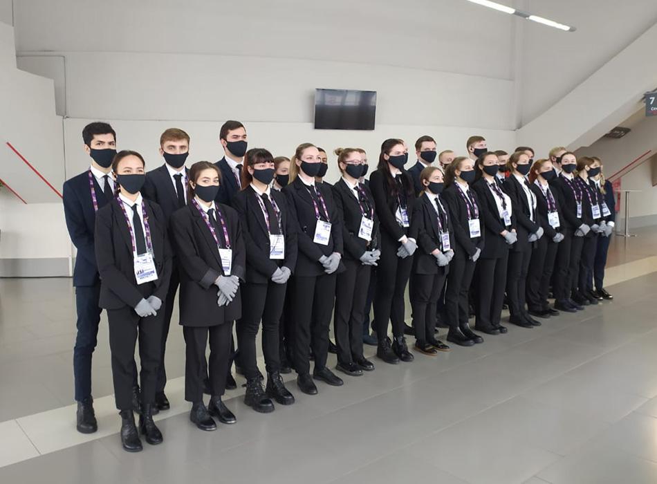 Наряд обеспечения ОП «Одеон» центрального корта КСК «Сибур Арена»